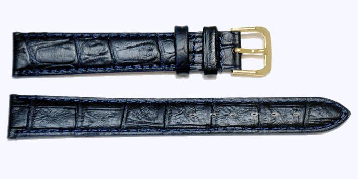 bracelet montre marine alligator