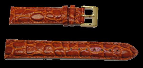 bracelet montre gold g crocodile