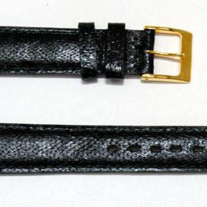 Bracelet montre cuir poisson maruca véritable