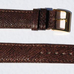 Bracelet montre en cuir de poisson véritable Maruca